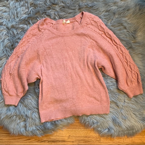 Sz M Anthropologie Icehouse Dolman Pullover Sweater by Moth Coral // Gray